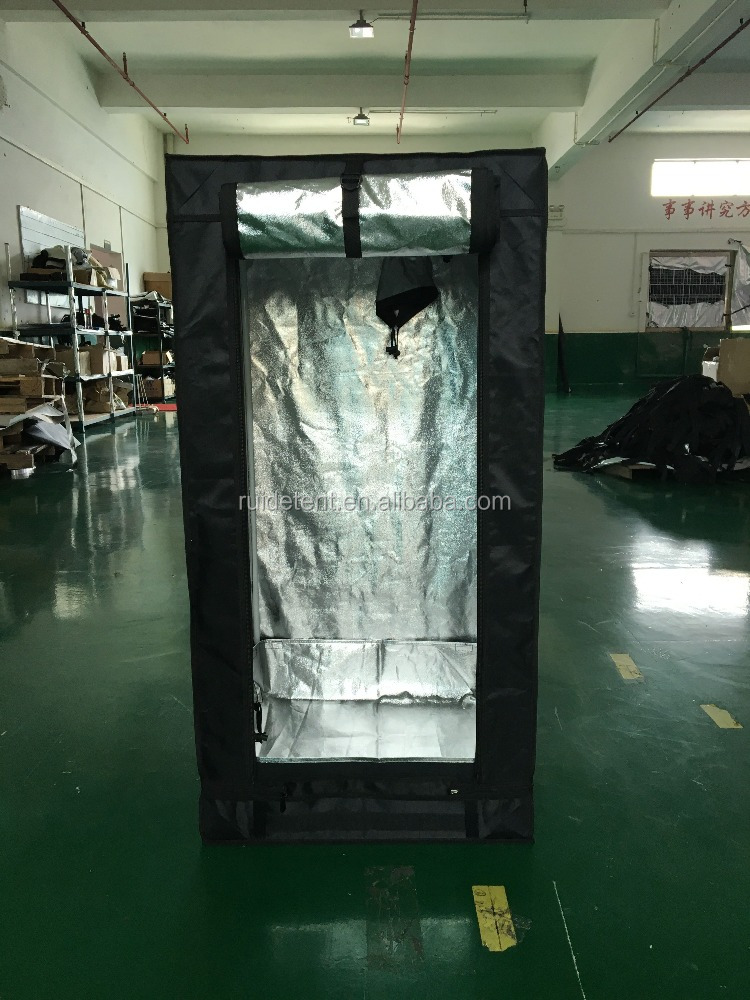 Factory Direct Supply 100% high reflective Mylar Hydroponic Greenhouse indoor Grow Tent,60x60x120cm