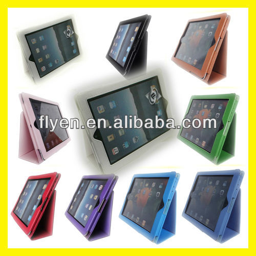 Magnetic Folio LEATHER CASE Protective COVER FOR THE NEW IPAD 4 3 2 GENERATION Wholesale Cheap Lot Cases Covers White