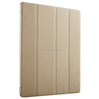 Luxury Business Shockproof Stand Genuine Leather Case Smart Cover for ipad 3 smart case