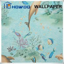 Lovely ocean / animal / cartoon wallpaper for kids bedroom