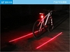 Salable Rechargeable Bike Real Light Bike Outdoor Laser Tail Light