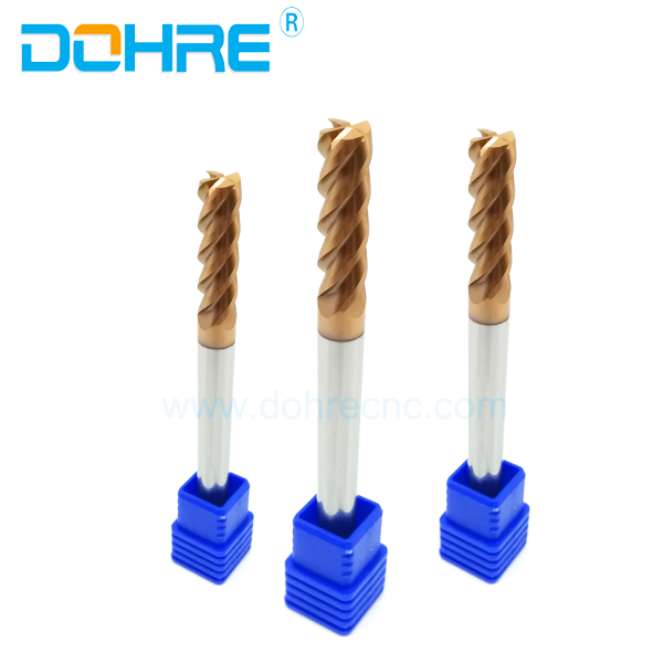 Precicion Milling Cutting Tools For Phone Processing End Mills