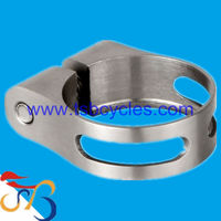 Adjustable Titanium parts seat post clamps TSB-SC01 for bicycle