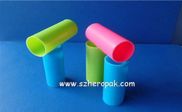 plastic tube wholesale full color tube colored polycarbonate tube