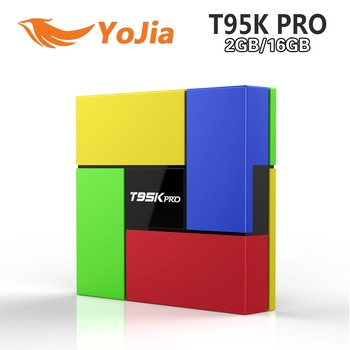 Android 6.0 marshmallow tv box T95k pro amlogic S912 tv box