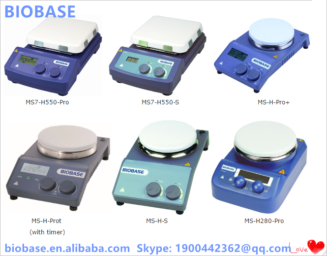 BIOBASE Laboratory Magnetic Stirrer With Hotplate