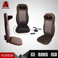 3D Shiatsu Massage Cushion w/ Neck and Shoulder Massage ,Kneading, Infrared and Viberation