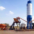 Environmental protection batching plant HZS25 concrete mixing plant price in Philippines