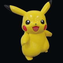 famous japanese cartoon pokmon character make as a figure toy for kids real factory goods