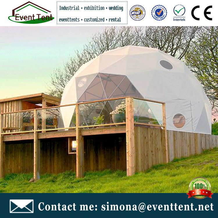 Large span 55m plans geodesic domes for sale