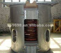 Copper and brass induction melting furnace