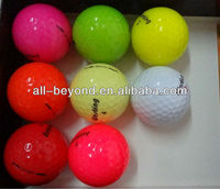 Colored Golf t ball