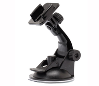 New Car Windshield Glass Suction Cup Camera Mount for Gopro Hero 2 3 4 4 Session Sport Camcorder AB-59
