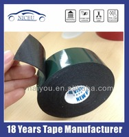 Water proof double side EVA foam tape with green liner and small core