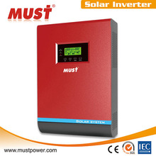 Must brand PV1800 high frequecny hybrid solar power inverter 3kva big MPPT pump generator for sale power to home and government