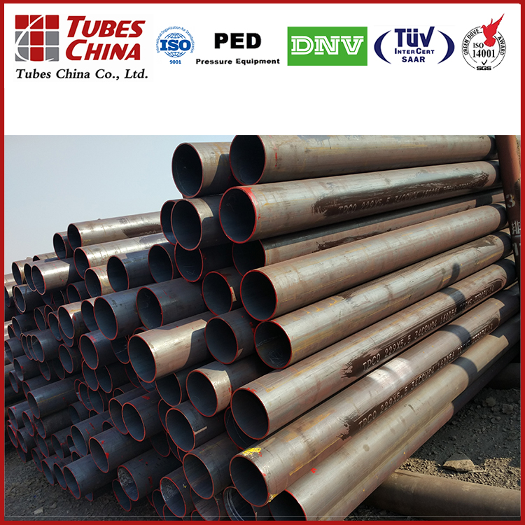 Hot expanded seamless gas cylinder pipe