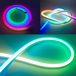 Full color Neon ws2812 side emitting led strip rgb tape lighting smd5050 digital ribbon