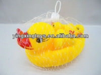 hot sell yellow plastic rubber duck toy