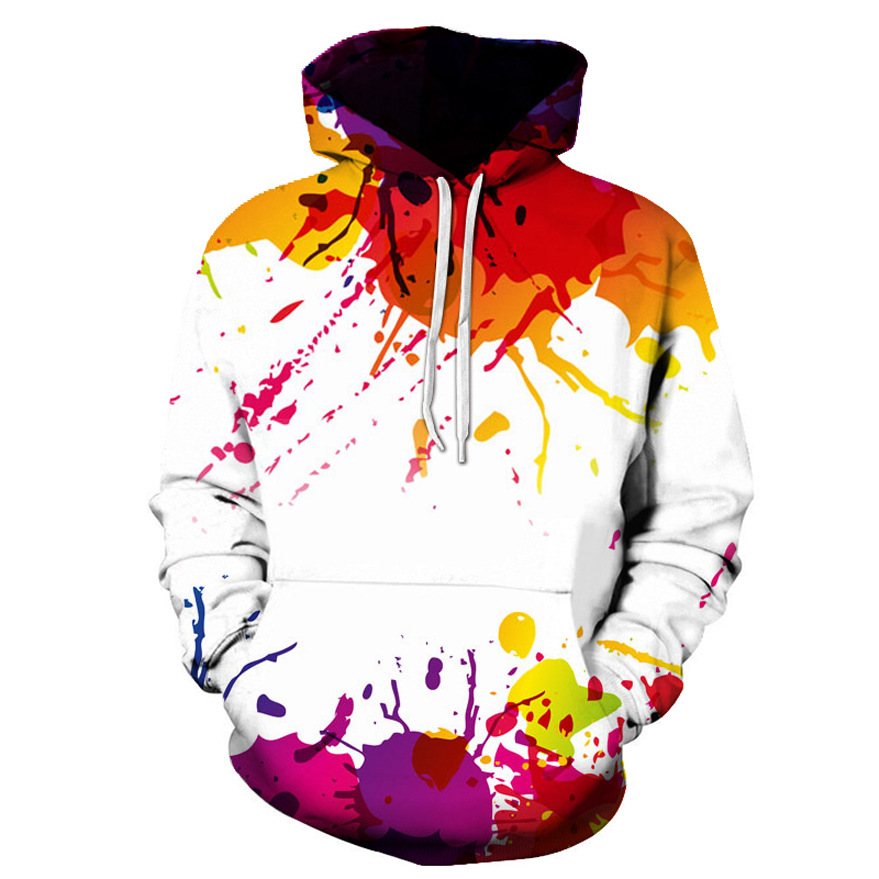 Autumn New Fashion 3d Hoodies Print Sweatshirt Casual Pullovers
