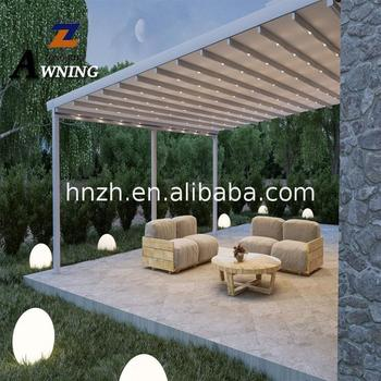 2018 hot new products Retractable Roof Canopy Waterproof awnings Electric with best quality