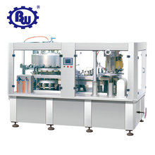 Hot China Products Wholesale Rotating Carbonated beverages Liquid Aluminum Beer Can Automatic Packing Filling Machine