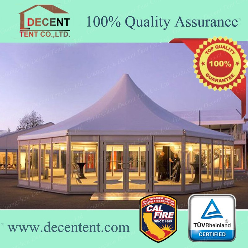 Promotional Octagon Pagoda Tent For Outdoor Party and Event