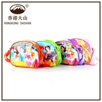 2015 hot selling snow white cartoon school bag fancy wholesale children school bag