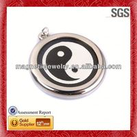 mineral scalar energy fashion letter p pendant jewelry