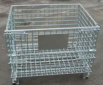 Good Price&Quality Folding Storage Wire Mesh Container