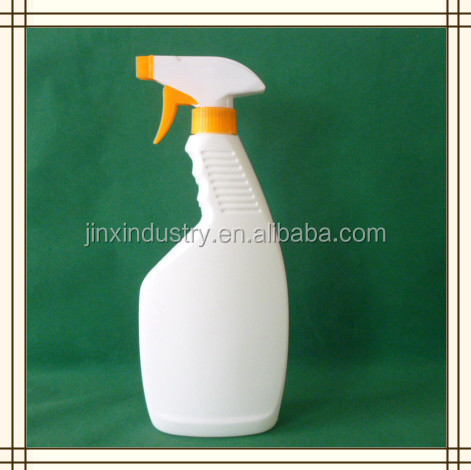 plastic trigger spray bottle with pump