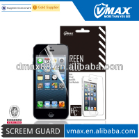 Ultra clear matte anti-radiation waterproof PET Screen Protector /Cell Phone/Mobile Phone accessories for iPhone 5 5c 5s