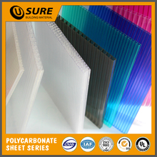 Flat PC Roof Plastic Honeycomb Sheet For Roofing Covering Qualified supplier