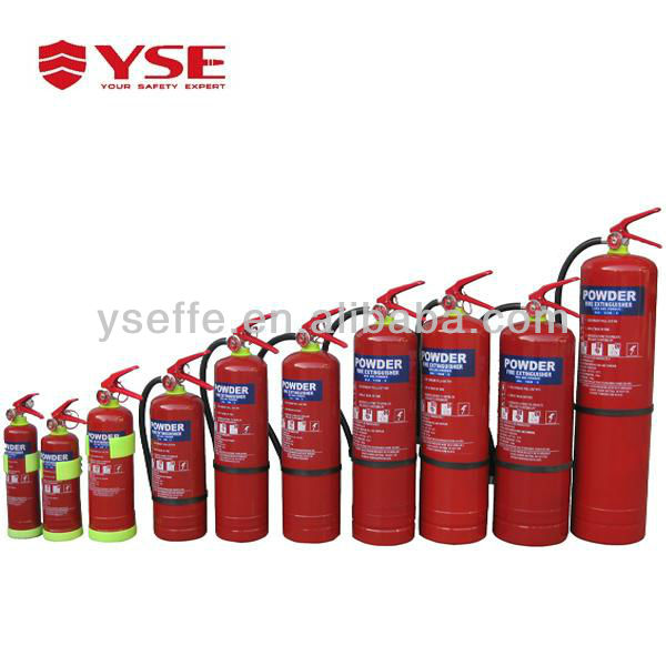 1kg portable ABC type fire extinguisher