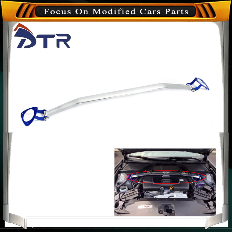 universal New Aluminum (2 points) ultra racing front strut bar
