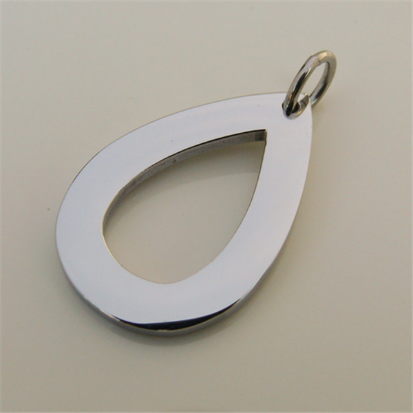 Yiwu Aceon Wholesale custom engraveable blanks Stainless steel metal tags for jewelry