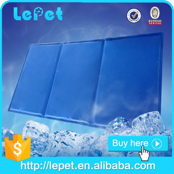 manufacturer wholesale Re-useable pet cooling bed/dog cool pad/cooling dog bed