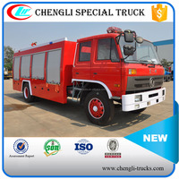 Dongfeng 6wheels 4*2 RHD LHD 5000L 6000L Water Foam Fire Truck Manufacturers Fire Truck Weight