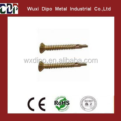 flat head Phillip wing self drilling screws