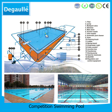 Commercial Swimming Pool Equipment Competition Luxury Outdoor Swimming Pool