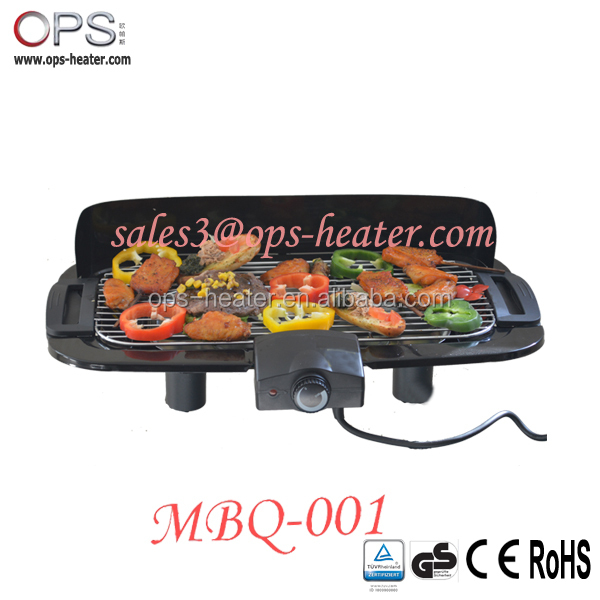s3 electric cast iron bbq grills MBQ-003A