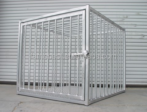 High Quality Galvanized Heavy Duty Dog Crates for sale