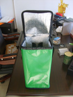new design cooler bag with laminated pp woven material and EPE inside