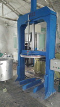 High viscosity paste Hydraulic discharging press machine