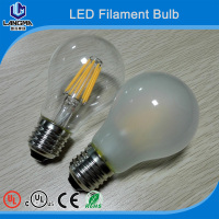 3 Years warranty Super Bright 110v-240V CE UL E27 Led Filament Bulbs Light 360 Angle A60 Led Lights Edison Lamp 4W/8W