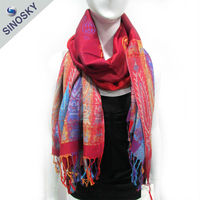 Alibaba supply low price scarf ornaments
