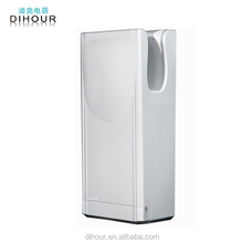 Convex Plate type Brush motor Double-sided High Speed Jet Hand Dryer with UV light--ECO9966