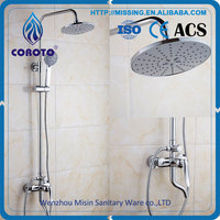 Twin Head Wall Mounted Thermostatic Rain