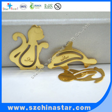 kinds of golden bird shape google bookmark