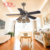 Zhongshan Modern European Style 5 Blades 220 Volt Antique Ceiling Fan
