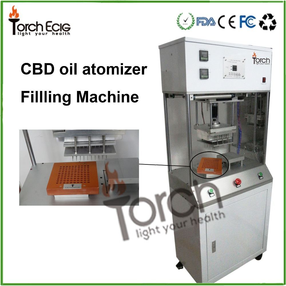 2016 Most popular products co2 oil vaporizer cartridge thc oil filling machine